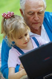Senior Computer User