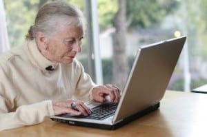 A Senior on the Computer