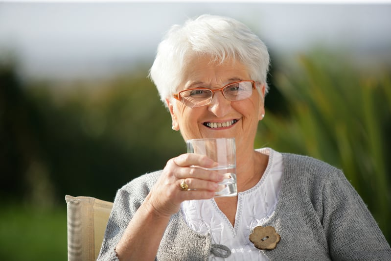 the importance of the elderly staying hydrated
