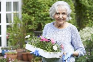 gardening with seniors