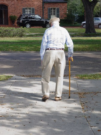 the right type of cane or walker for you or someone you love