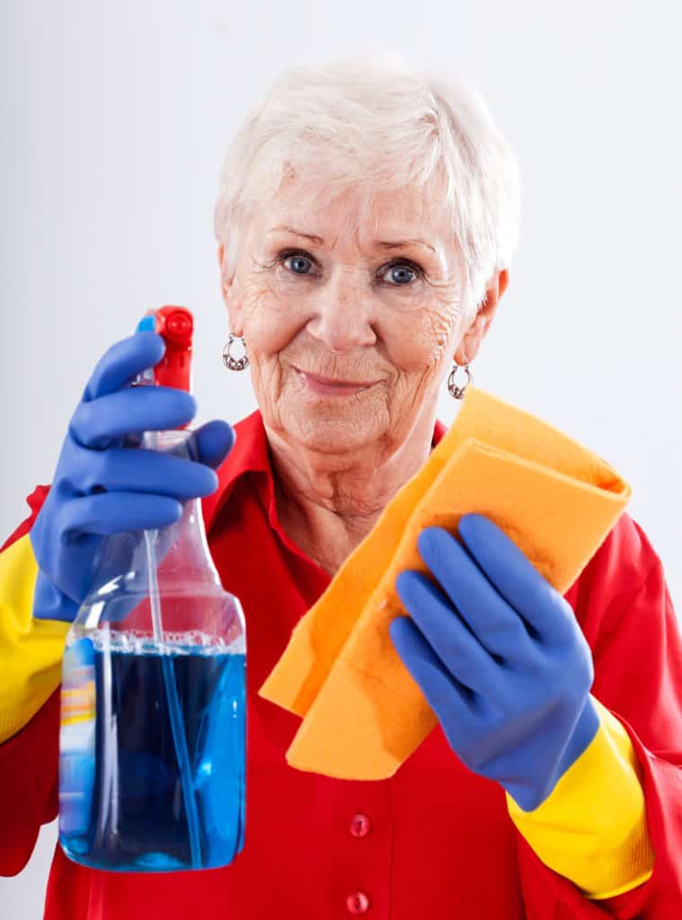 tips for helping seniors with spring cleaning