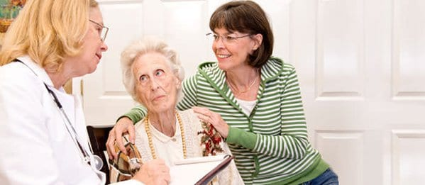 difficult topics with elderly family members