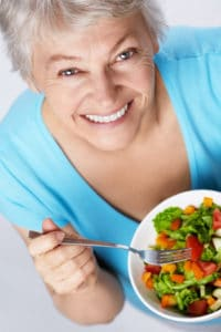 senior care tip focus on an anti-inflammatory diet