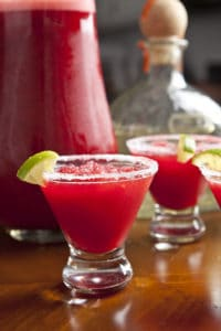 holiday inspired mocktail and cocktail recipes