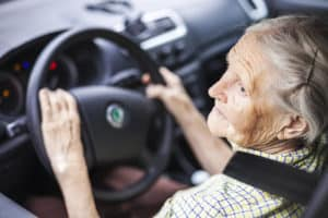 how to convince a senior to give up driving