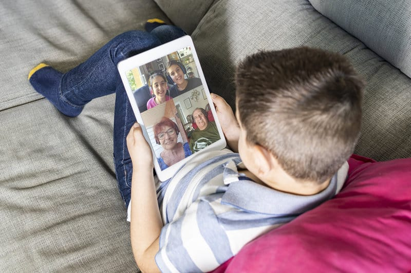 8 ways to connect with grandchildren online