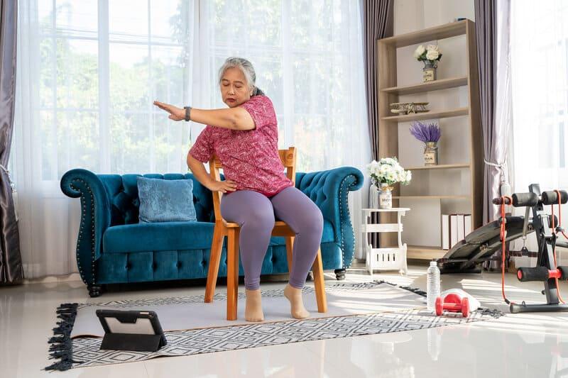 safe summer exercises for seniors